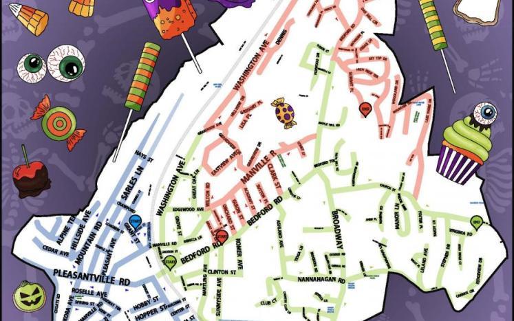 Candy Crawl Map
